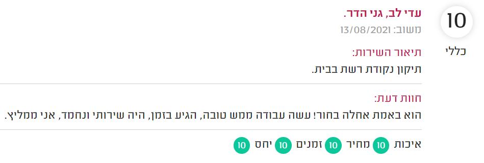 המלצה קבלן תשתיות תקשורת 02